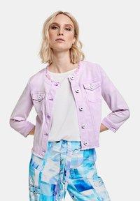 Taifun - Denim jacket - lavender - 0