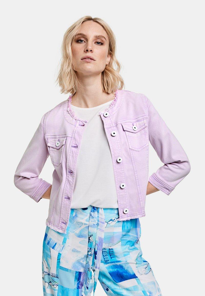 Taifun - Denim jacket - lavender