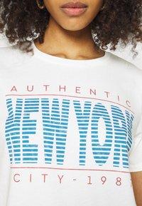 Gina Tricot - IDA TEE - Camiseta estampada - offwhite - 5