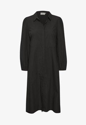 BPKALLA - Vestido camisero - black deep