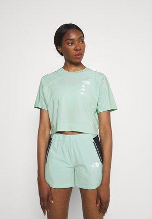 GLACIER TEE  - Print T-shirt - mint