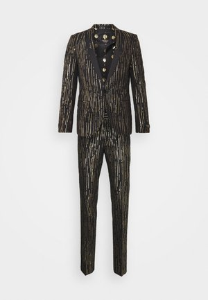 SAGRADA SUIT - Garnitur - black/gold