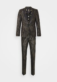 Twisted Tailor - SAGRADA SUIT - Garnitur - black/gold - 0