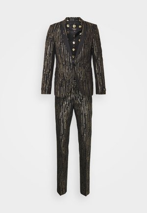 SAGRADA SUIT - Oblek - black/gold