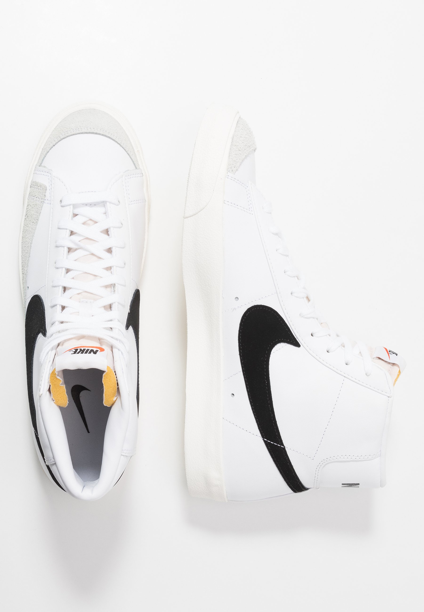 BLAZER MID '77 - Sneakers hoog - white/black