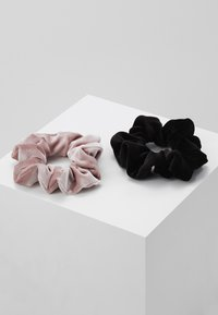 Even&Odd - 2 PACK - Hair styling accessory - rose/black