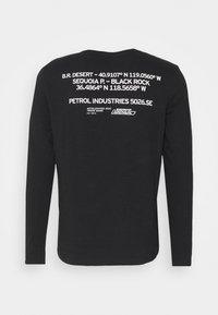 Petrol Industries - Long sleeved top - black - 7