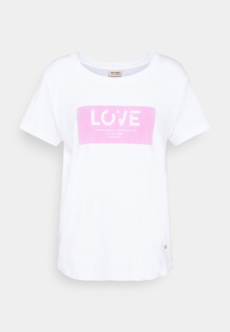 Mos Mosh - CHÉRIE TEE - Print T-shirt - bubble pink