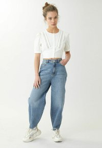 Pimkie - SLOUCHY HIGH WAIST - Jeansy Relaxed Fit - denimblau - 1