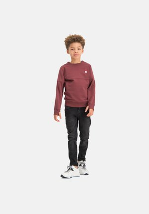 Sweatshirt - grape red