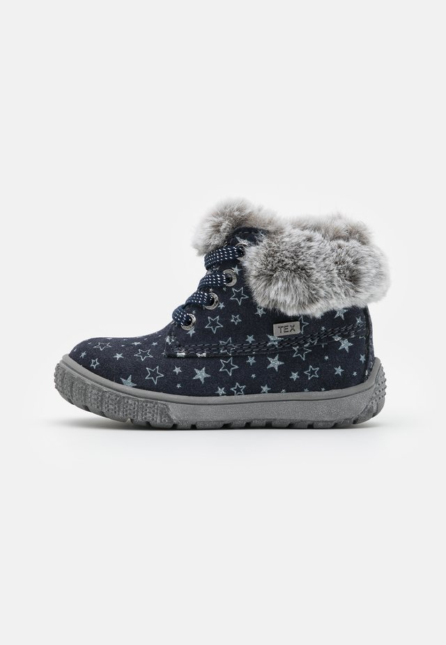 JUXY TEX - Chaussures premiers pas - navy