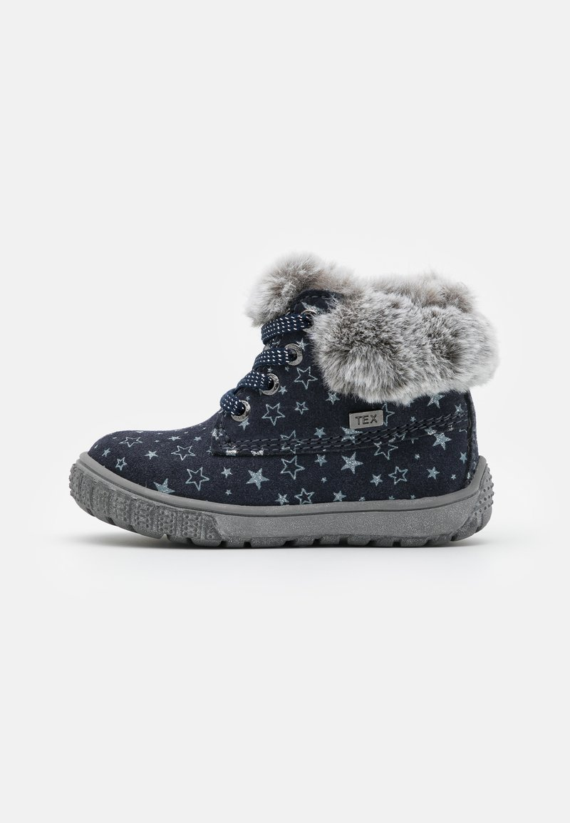 Lurchi - JUXY TEX - Baby shoes - navy