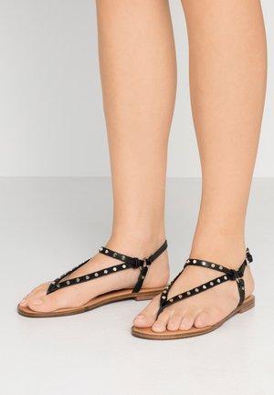 FILANNA - T-bar sandals - black