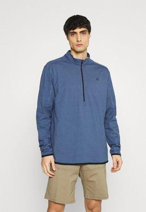 ALL TERRAIN GEAR ZIP - Long sleeved top - dark blue
