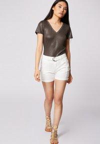 Morgan - Print T-shirt - khaki - 1