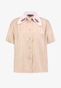 Sister Jane - INSECTA RETRO BLOUSE - Button-down blouse - coral - 3