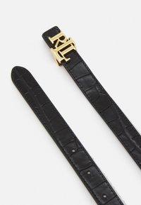Lauren Ralph Lauren - Belt - black/tan - 2