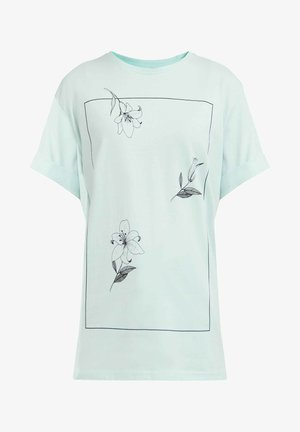 T-shirt imprimé - light green