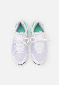 Nike Performance - FREE METCON 4 - Gym- & träningskor - white/infinite lilac/dark smoke grey/green glow/football grey/laser orange - 3