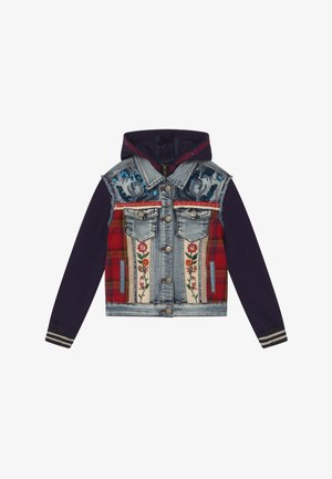 CHAQ EXOTIC - Denim jacket - blue