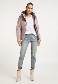 DreiMaster - Winter jacket - nude melange - 1