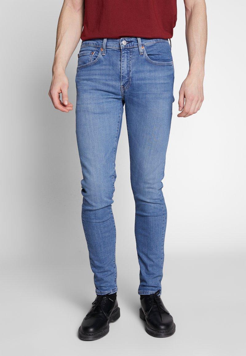 Levi's® - SKINNY TAPER - Jeansy Skinny Fit - blue denim