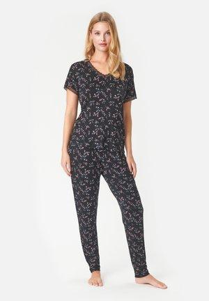 Pyjama - black aop