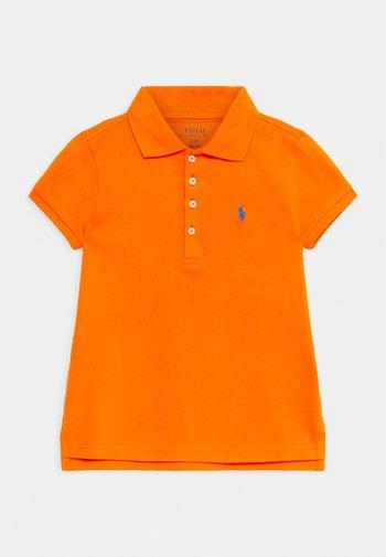 Polo shirt - sailing orange/colby blue
