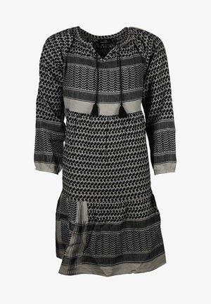 VALENTINA - Day dress - schwarz grau