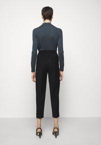 Filippa K - FRANCA COOL TROUSER - Kalhoty - black - 2