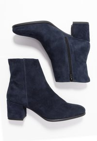 Anna Field - LEATHER BOOTIES - Classic ankle boots - dark blue - 3