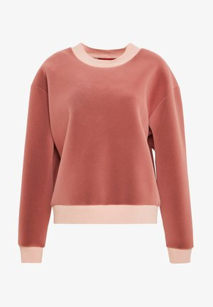 Sweatshirt - rose pink