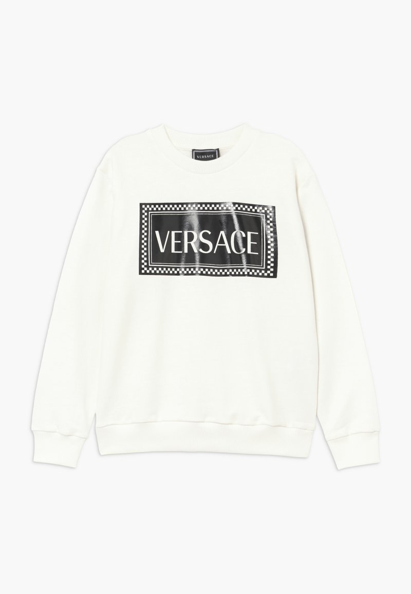Versace - FELPA - Mikina - bianco/nero