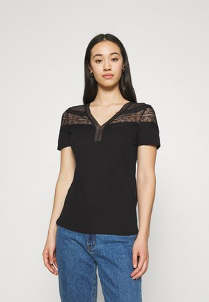 DIETER - Basic T-shirt - noir