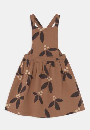 NIGHT BLOOMS PINAFORE  - Day dress - pecan