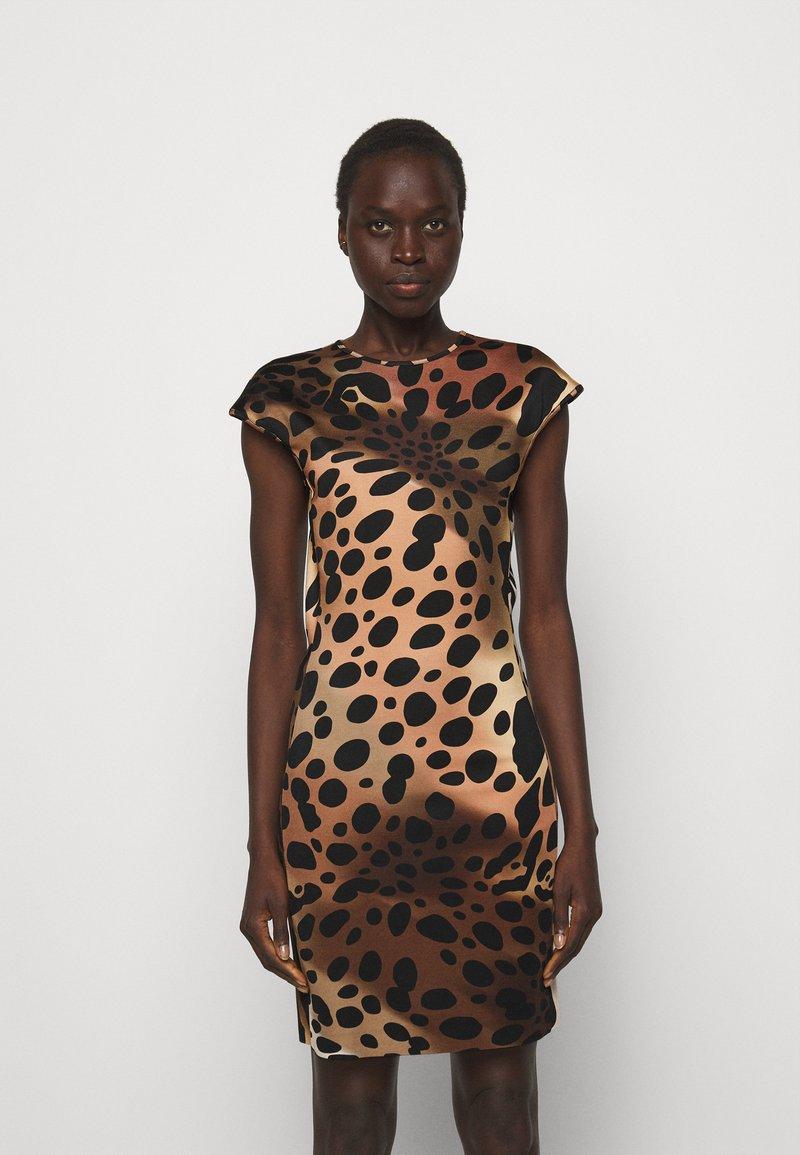 Just Cavalli - Žerzejové šaty - natural variant