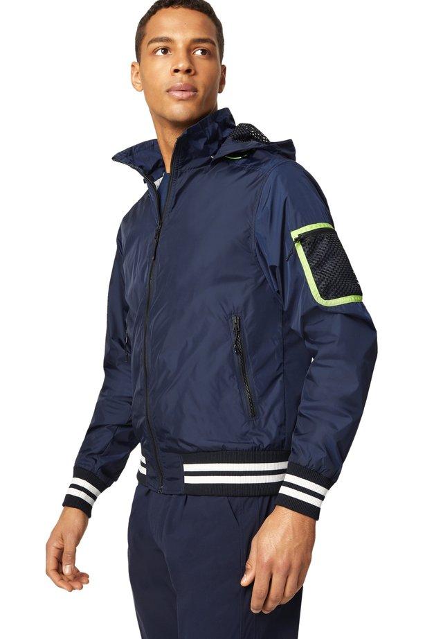 SERAN - Outdoorjas - navy blau