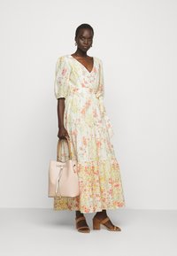 Lauren Ralph Lauren - VOILE DRESS - Day dress - col cream/coral - 1