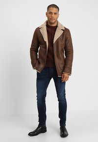 Pier One - Pullover - mottled brown - 1