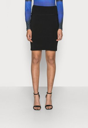 PENNY - Pencil skirt - black