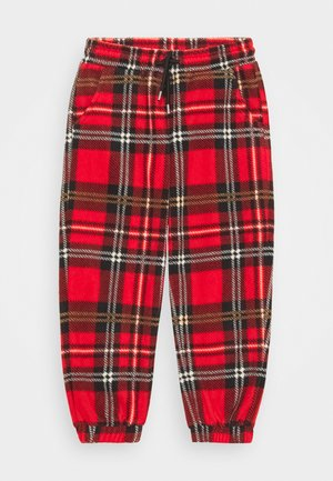 BABY CHECK TROUSERS UNISEX - Pantalones - red
