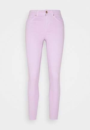 ONLWAUW LIFE MID COLOUR - Jeans Skinny Fit - orchid bloom
