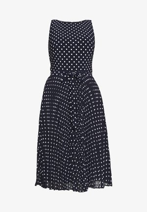 MATTE DRESS - Day dress - navy