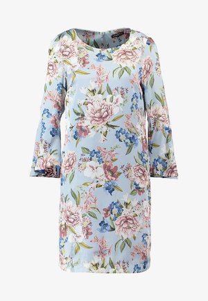 PRINTED DRESS - Robe d'été - light blue