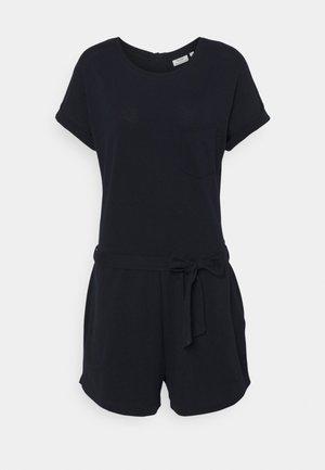 OVERALL SHORT ROUNDNECK SHORTSLEEVE - Jumpsuit - scandinavian blue