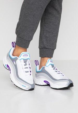 DAYTONA DMX - Sneakers laag - white/regal purple/bright cyan