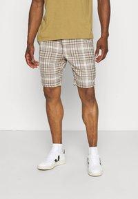 Only & Sons - ONSLINUS CHECK SHORTSDT  - Shorts - chinchilla - 0