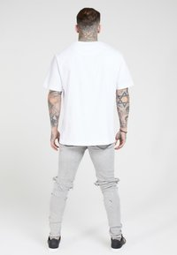 SIKSILK - BUST KNEE RIOT - Jeans Skinny Fit - washed grey - 2