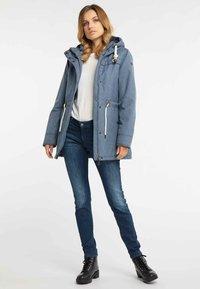DreiMaster - Winter coat - marine melange - 1