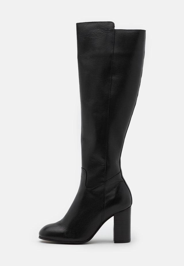 YASLARNA KNEE HIGH BOOTS - Boots - black